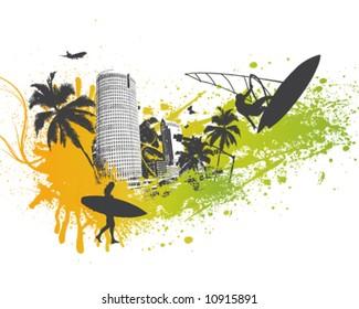Surfer Palm City