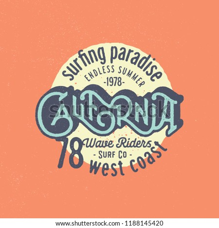 California vintage apparel picture 705
