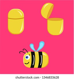 surprise egg experiment bee for kids