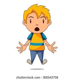 Surprised Cartoon Images, Stock Photos & Vectors   Shutterstock