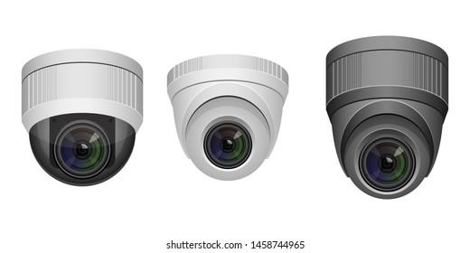 surveillance camera vector design illustration isolated on white background