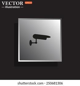 surveillance Camera, vector illustration, EPS 10