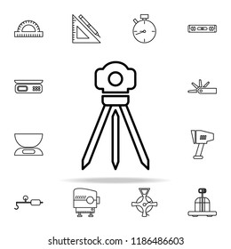 survey instrument icon. Measuring Instruments icons universal set for web and mobile