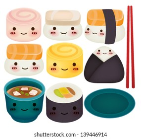 Sushi Collection - Vector File EPS10