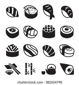 Sushi icons