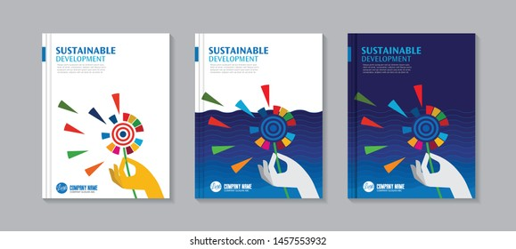 Sustainable Development Concept: corporate social responsibility - Vector