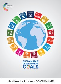 Sustainable Development Goals - the United Nations. SDG. Cover Page.
