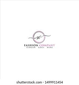 SV Letter Fashion Logo Design
