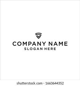 SV logo icon design vector