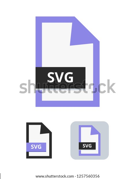Svg File Flat Vector Icon Symbol Stock Vector Royalty Free 1257560356