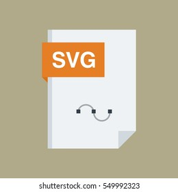 Svg File Type and Extension