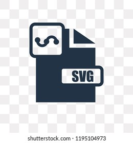 Svg vector icon isolated on transparent background, Svg transparency concept can be used web and mobile