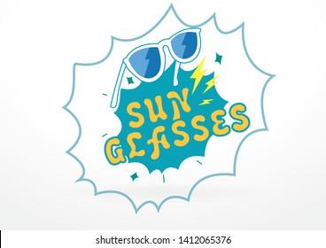 Swag Sun Glasses Masthead Design