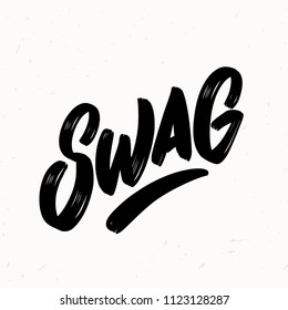 SWAG. Vector lettering.
