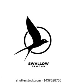 swallow circle logo isolated swallow on stock vector royalty free 1439628755 swallow circle logo isolated swallow on