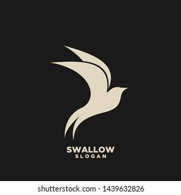swallow logo images stock photos vectors shutterstock https www shutterstock com image vector swallow gold logo isolated on white 1439632826
