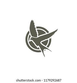swallow logo design
