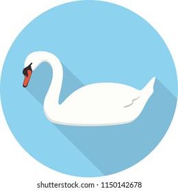 Swan Flat Design