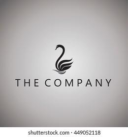 swans logo on background
