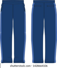sweat pants vector graphic illustration isolated template