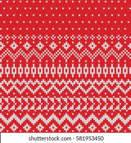 Sweater Design Seamless Knitting Pattern