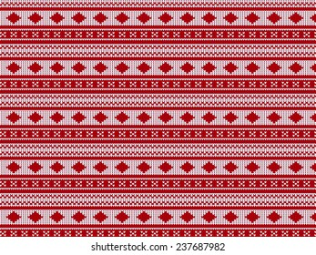 Sweater pattern vector background