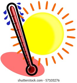 sweating thermometer