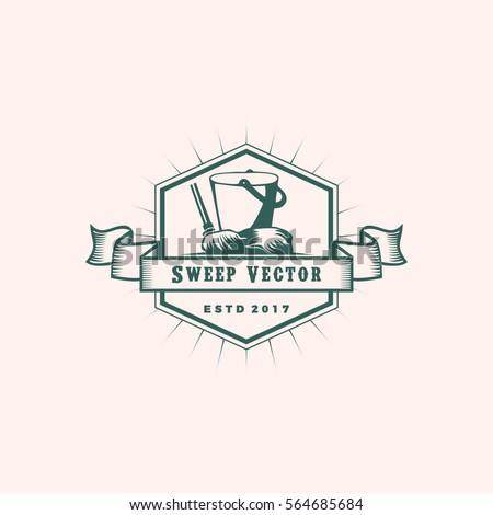 sweep logo vector stock vector royalty free 564685684 shutterstock