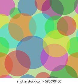 Sweet Bubbles on the light green background. Seamless Texture for background image on websites, e-mails, etc.