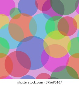 Sweet Bubbles on the liquid lilac background. Seamless Texture for background image on websites, e-mails, etc.