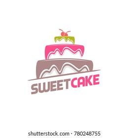 Sweet Cake Logo
