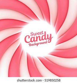 Sweet candy background with place for your content.