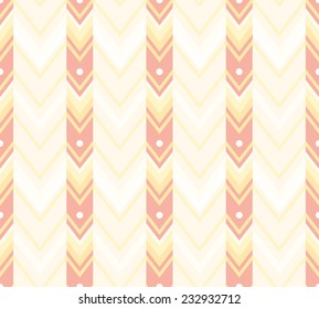 Sweet chevron pattern. Seamless vector background.