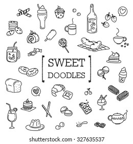 Sweet doodles set