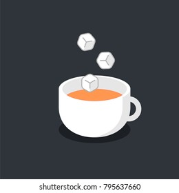 sweet drink, coffee, tea, sugar