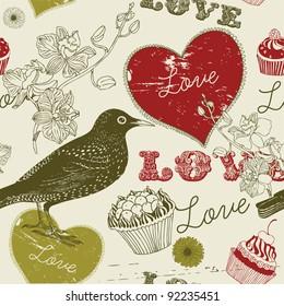 sweet  love bird card