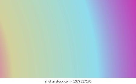 Sweet Multicolor Blurred Background. For Bright Website Banner, Invitation Card, Scree Wallpaper. Vector Illustration.