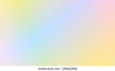 Sweet Multicolor Blurred Background. For Elegant Pattern Cover Book. Vector Illustration