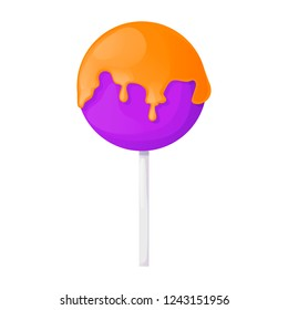 Sweets on white background hard candy food, dragee, lollipop, toffee, jelly, peppermint candy, chocolate vector illustration. Glossy goody onfectionery gummy sugar dessert.