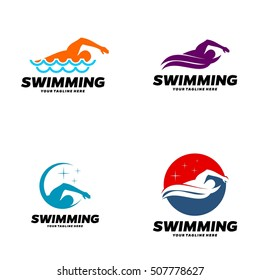 swimming logo images stock photos vectors shutterstock rh shutterstock com swim logo towel83 swim logo design