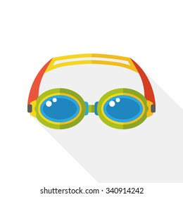 swimming Goggles flat icon