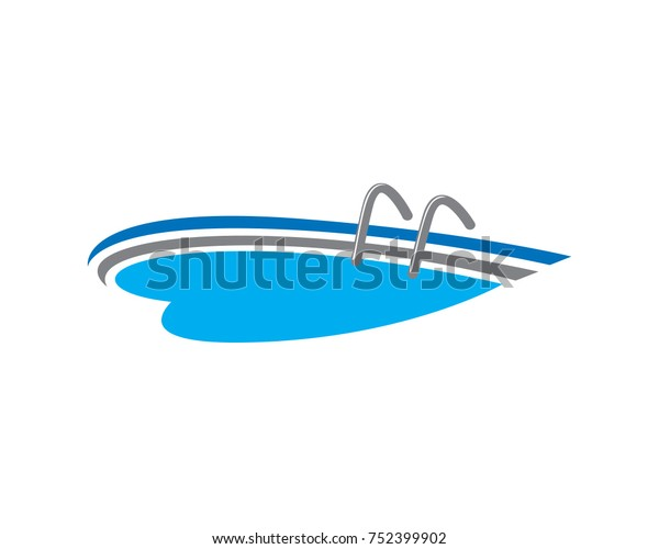 Swimming Pool Design Construction Stock Vector (Royalty Free ...