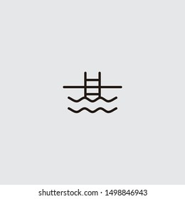 swimming pool icon from summer holidays collection for mobile concept and web apps icon