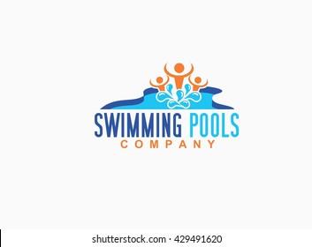 Swimming Pool Logo