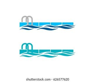 pool logo images stock photos vectors shutterstock rh shutterstock com pool logs sheets pool logos for business cards