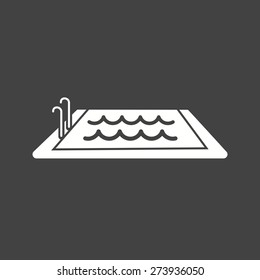 Swimming, pool, water, swim, sports icon vector image. Can also be used for fitness, recreation. Suitable for web apps, mobile apps and print media.