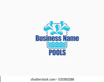 Swimming Pools Logo