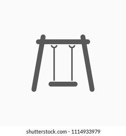 swing icon, swings vector