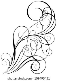 Swirl art design