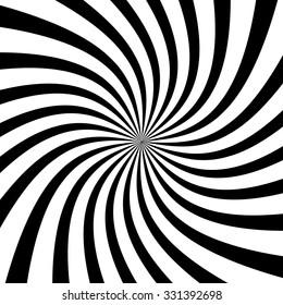 Swirl, vortex background. Rotating spiral.